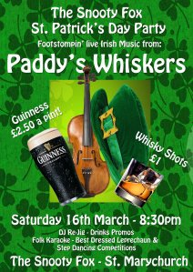 Footstomping Irish Music From Paddy's Whiskers Devon Ceilidh Barndance Band